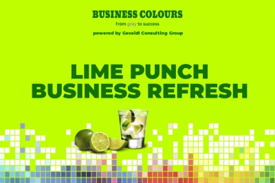 Poza Lime Punch Colour. Refresh Your Bus